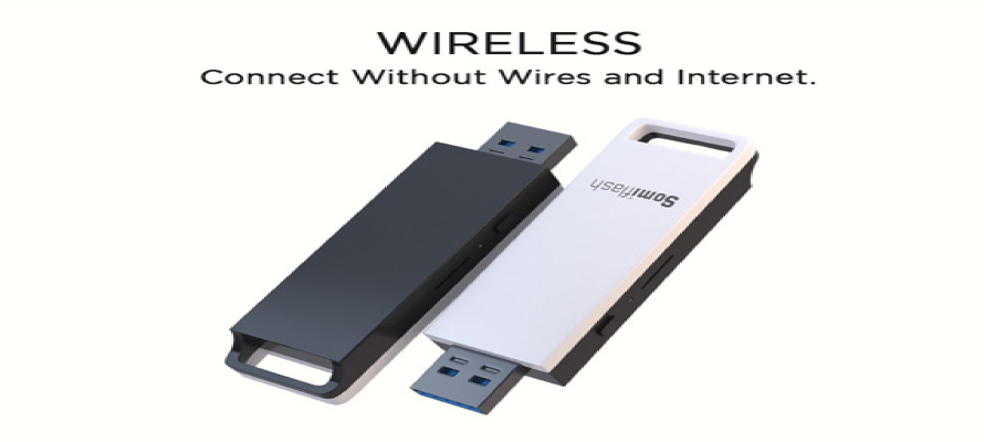 Somiflash : A Wireless 1TB Flash Drive To Restore Your Data Just In a Click