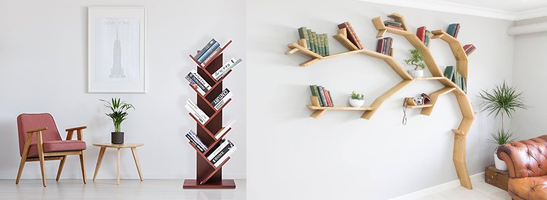 Check out Some Incredibly Cool Bookshelves for Home Décor to Organize Your Solo Companions