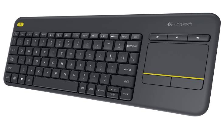 Add Logitech Wireless Keyboard with Multi-touch Touchpad to Enhance Your Comfort