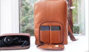 VENTURE 2: Leather Tech Backpack