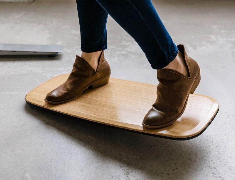 The Floatdeck Standing Desk Balance Board