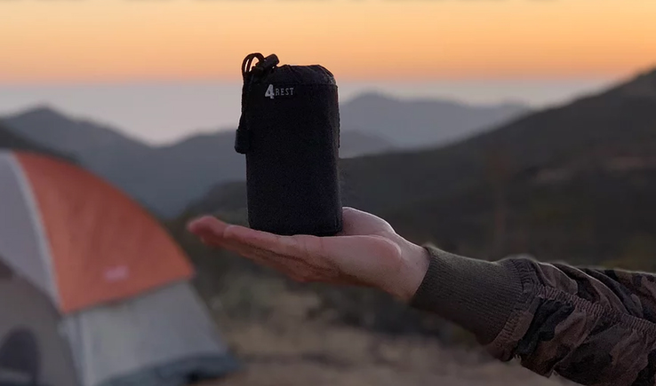 4-Rest | Travel Blanket-GadgetAny