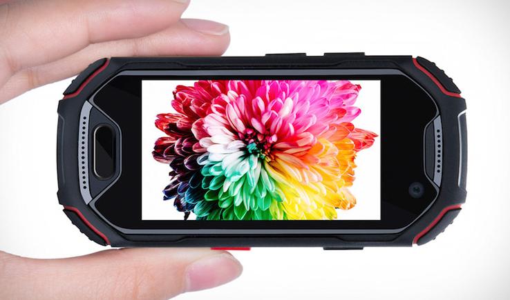 UNIHERTZ ATOM – THE SMALLEST 4G RUGGED SMARTPHONE