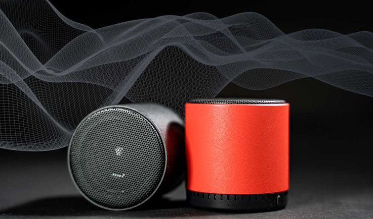 Cannon Speakers –Go For Ultra Portable Immersive 3D True Mini Bluetooth Wireless Stereo Speakers-GadgetAny