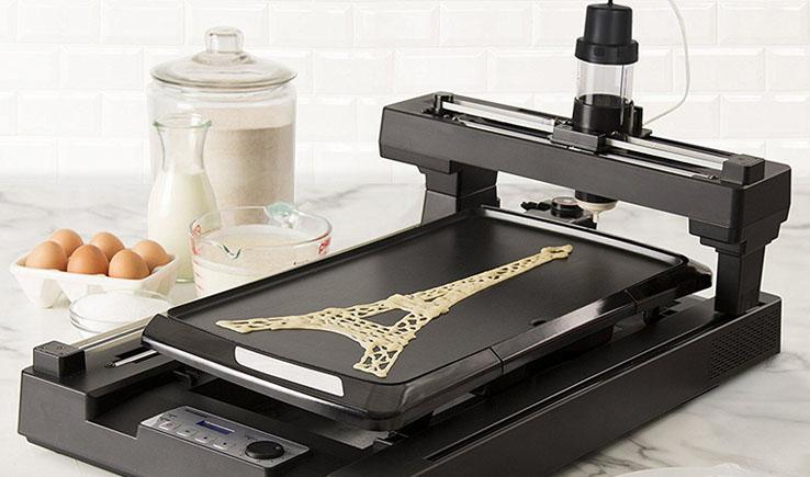 3D Pancake Bot -The amazing Pancake Printer-GadgetAny