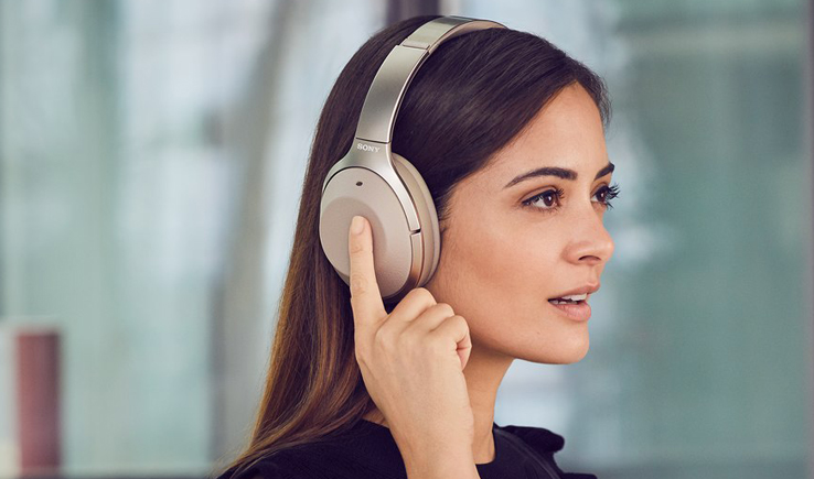 Sony 1000XM2 WIRELESS NOISE CANCELING HEADPHONES- Listen noise free Music-GadgetAny