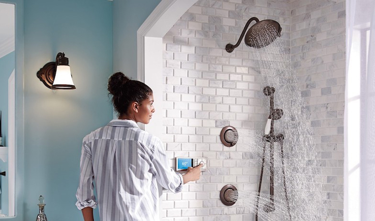 U by Moen Smart Shower-GadgetAny