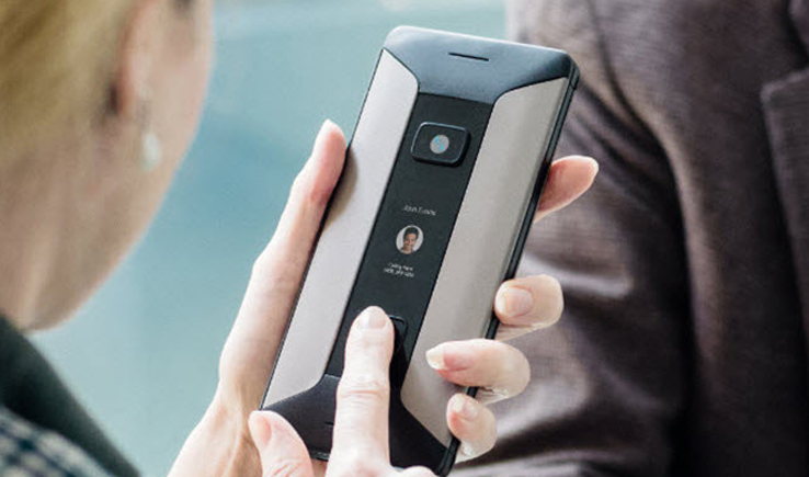 The Cosmo: Communication is a dual- screen Android-based PDA-GadgetAny