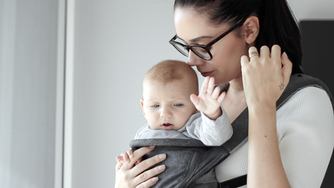 MiaMily HIPSTER Smart 3D hip seat baby carrier