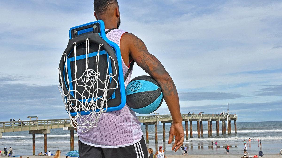 Portable Basketball Hoop-gadgetany