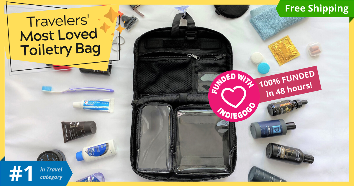 Vacationist- Most advanced toiletry bag for travelers-GadgetAny