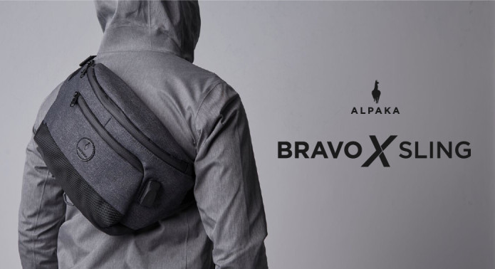 Bravo X Sling Bag: Ultimate Anti-Theft Bag-GadgetAny