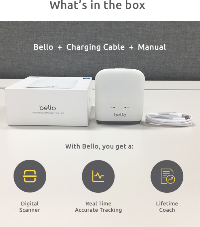Bello – Decode your belly fat & manage your health-GadgetAny