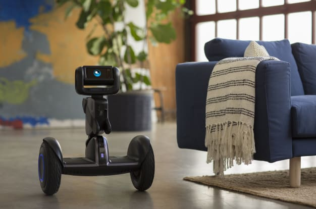 Loomo: Mini Transporter Meets Robot Sidekick-GadgetAny