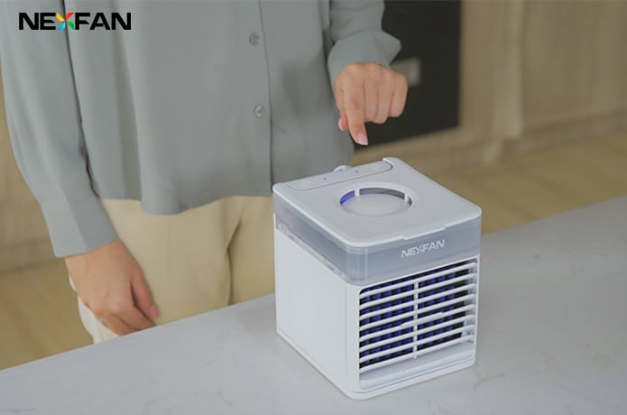 NexFan Ultra:Portable AC with Sterilization System-GadgetAny