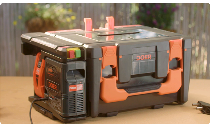 DOER The Most Compact Tool Shed You've Ever Seen-GadgetAny