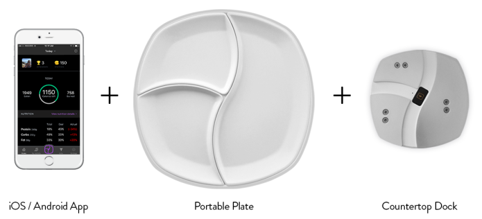 Smart Plate TopView: Your Personal Nutritionist-GadgetAny