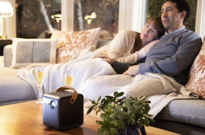 Formovie Dice: The Brightest Portable Projector-GadgetAny