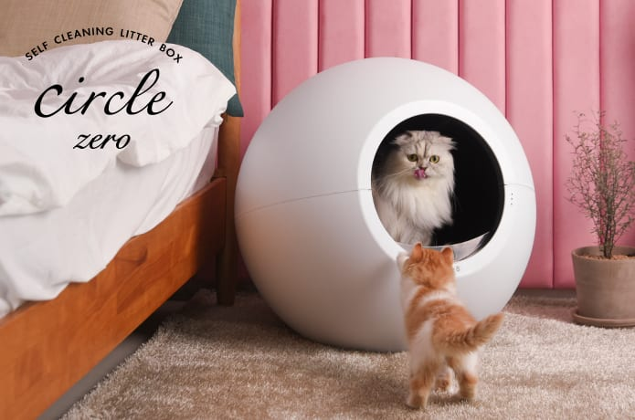 Circle Zero: Zero-Odor Self-Cleaning Litter Box-GadgetAny