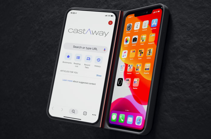 castAway -A Second Screen for Your Smartphone!-GadgetAny