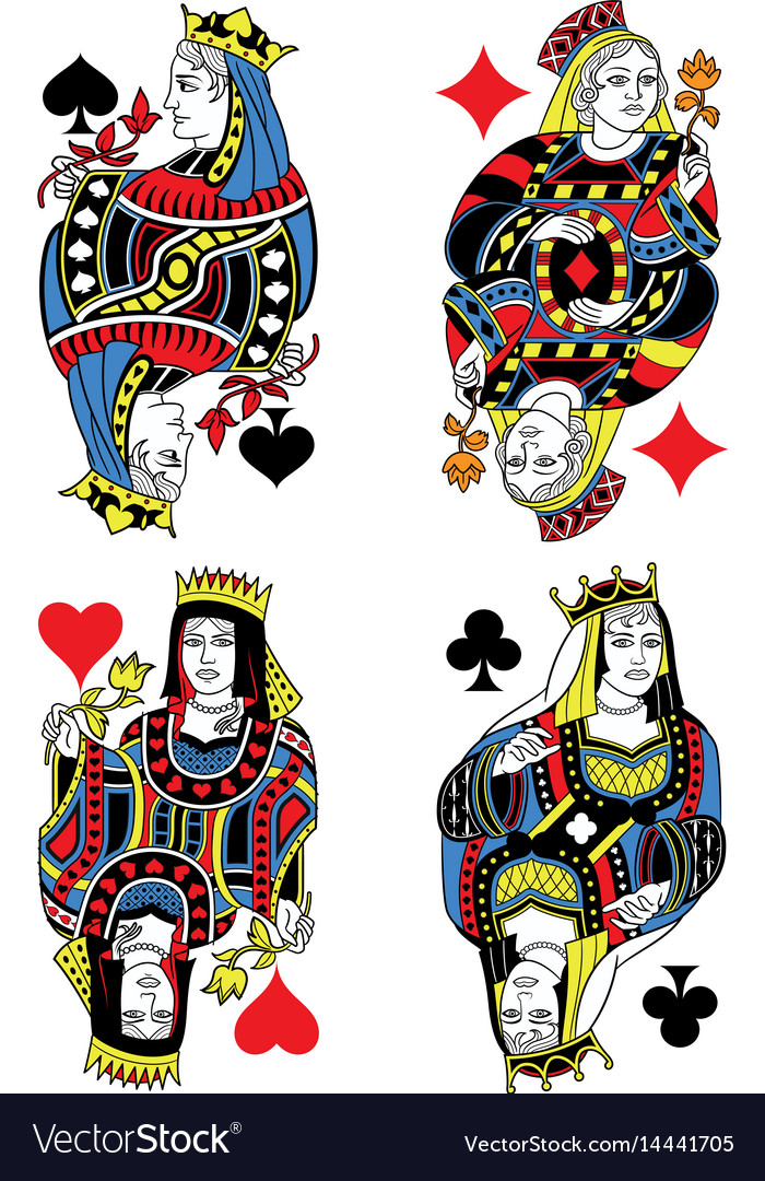 Queeng Playing Cards-GadgetAny