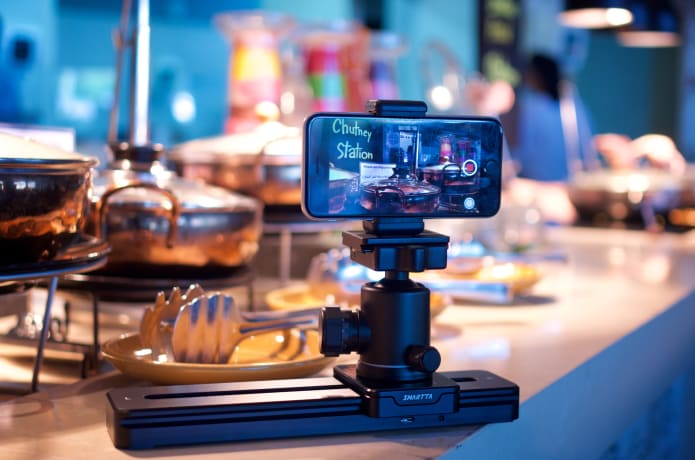 SliderMini: Ultra portable & smooth camera slider-GadgetAny
