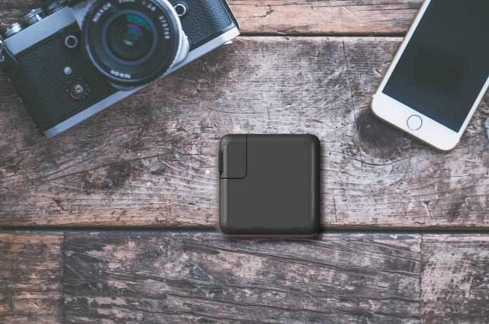 SuperCharger2.0-USB-C Hub & Fast Charge Power Bank-GadgetAny