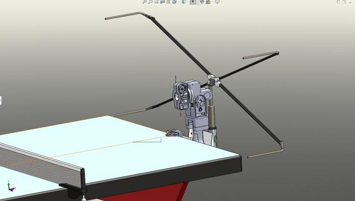 JOOLA Infinity: App-Controlled Table Tennis Robot-GadgetAny