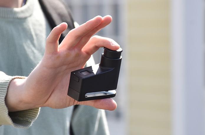 WALSUN: World's SmalIest Fingerprint Disc Lock!-GadgetAny
