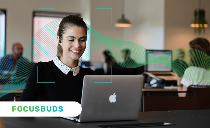 FocusBuds – The World's First Boosting Earbuds-GadgetAny