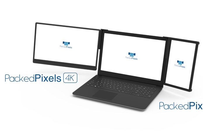 "Packed Pixels 4K – 15.6"" Portable Laptop Monitor-GadgetAny"