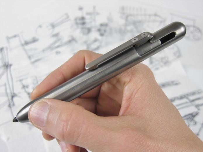 MARKSMITH Titanium – Modern EDC Permanent Marker-GadgetAny