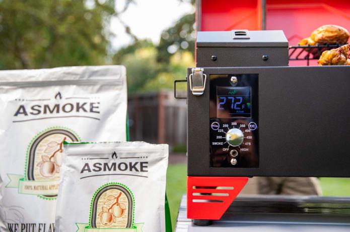 ASMOKE – Portable Applewood Pellet Grill-GadgetAny