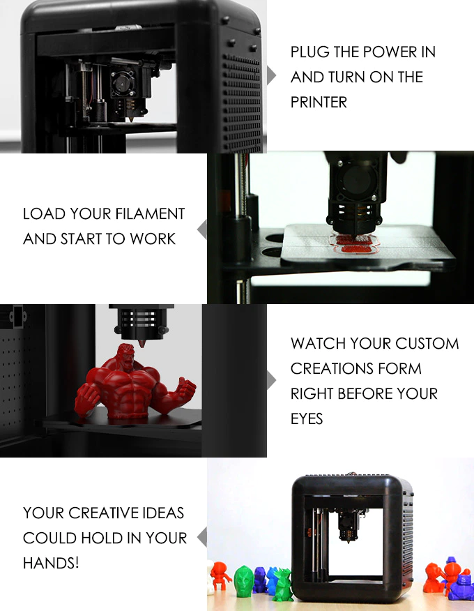 3DFORT 3D printer–Print anything you want-GadgetAny